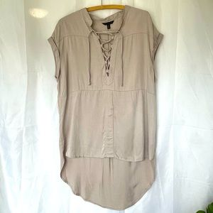 Coupé Collection Soft taupe tunic
